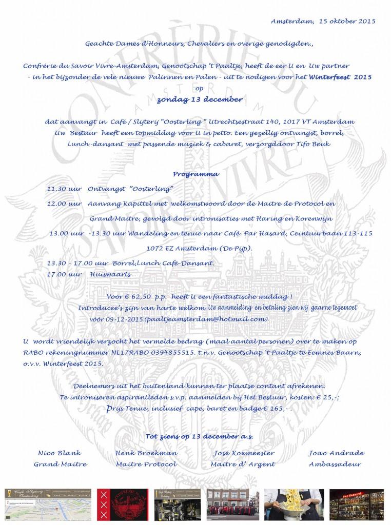 Uitnodiging WF 2015